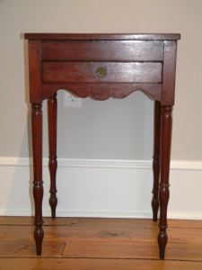 443 - c1800 Cherry Sewing Stand