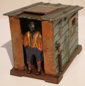J & E Stevens, Cabin Mechanical Bank, c1885